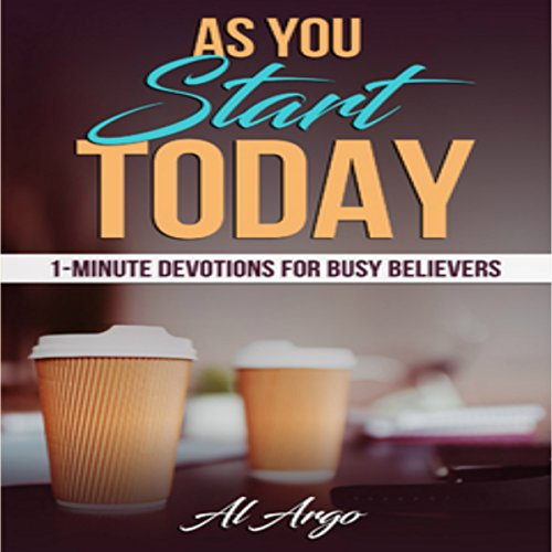 As You Start Today audiobook cover art