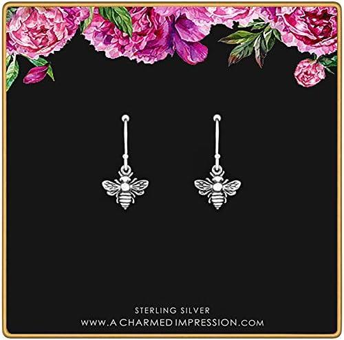 Little Silver Max 61% 35% OFF OFF Bee Earrings Charm Sterling Earr •