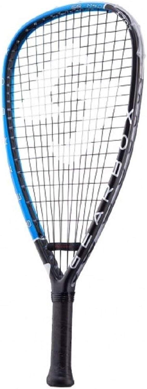(3 5 8)  Gearbox M40 170 TEARDROP blueE Racquetball Racquet
