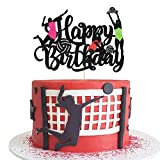 Volleyball Cake Topper Woman's Volleyball Cake Decoration Adult Children Beach Volleyball Theme Birthday Party Decoration