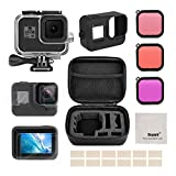 Deyard Accessories Kit for GoPro Hero 8 Black with Shockproof Small Case +...