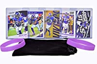 Dalvin Cook Football Cards (5) Assorted Bundle - Minnesota Vikings Trading Card Gift Set
