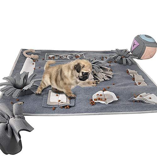 Goodtimera Alfombrilla para perros para saltar, alfombrilla para pienso, alfombrilla para pienso, sin sustancias nocivas, para perros, inteligencia, juguete interactivo para perros