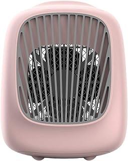 DOOP, Mini enfriador de aire, Mini aire acondicionado portátil 3 en 1, Humidificador de aire, Purificador de ventilador con 3 velocidades ajustables