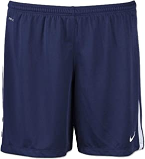 Nike Womens League Knit Soccer Shorts Team Navy/White Size Medium