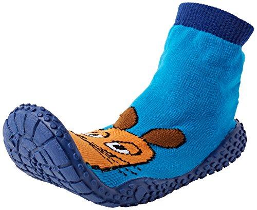 Playshoes DIE MAUS Aqua-Socke Badeschuhe DIE MAUS 174812, Jungen Aqua Schuhe, Blau (original 900), 26/27 EU