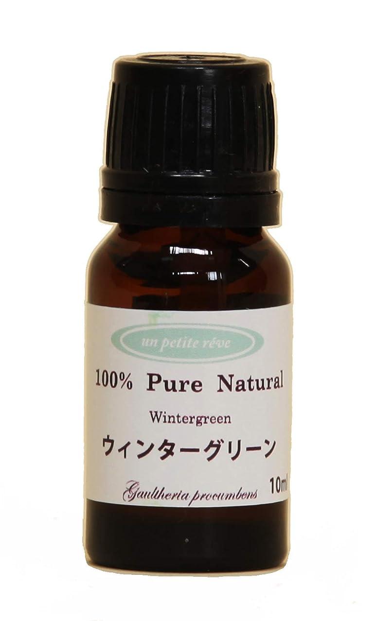 テセウスタワー合わせてウィンターグリーン  10ml 100%天然アロマエッセンシャルオイル(精油)