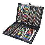 MEICHEN Set Arte Bambini 168 Pezzi - Valigetta Colori & Pastelli Colorati - Set Artistico Bimba -...