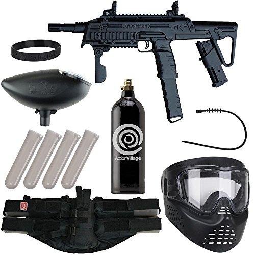 Action Village Tippmann Epic Paintball Gun Package Kit (TCR) (Black)