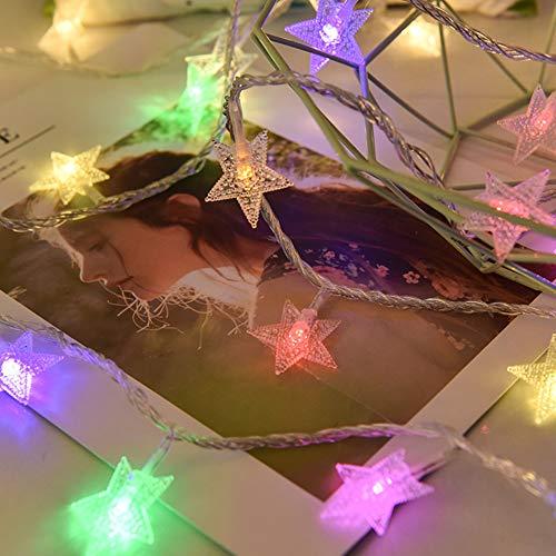 Aquyy Led-lichtsnoer, 20 m, 8 modi, voor Kerstmis, bruiloft, banket, tuin, buitenverlichting