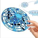 Poooc Magie UFO volant Hand Ball contrôlée volant Drone interactif à induction Mini Drone USB Charge Toy Résistance aux chutes Lévitation enfants Jouets Jeux intérieur et extérieur for 3-10 Year Old E