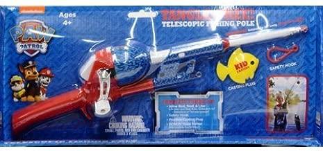 Nickelodeon Paw Patrol Kidcaster Tangle-Free Telescopic Fishing Pole