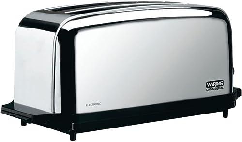 Waring-WCT704-Light-Duty-120V-Extra-Long-Two-Slot-4-Slice-Toaster