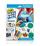 Crayola Color Wonder Disney Pixar Finding Dory Mess Free Stampers & Drawing pad Set Art Gift for Kids & Toddlers 3 & Up, Stamps, Stamp Pad, Paper & Markers, Won't Mark Walls, Clothes or Furniture