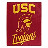 NORTHWEST NCAA USC Trojans Raschel Throw Blanket, 50' x 60', Alumni