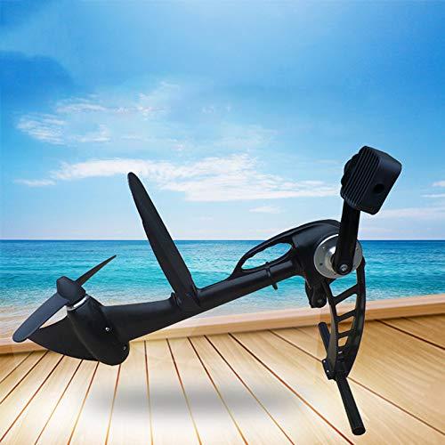 HUWENJUN123 Motor de Pedal, Unidad de Potencia de pie, Dispositivo de propulsión para Kayaks, Barco de Pesca