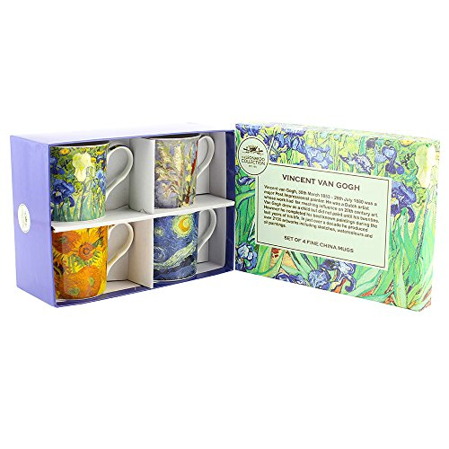 Leonardo Collection - Collezione Tazze da tè Van Gogh, Set da 4