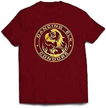 ADESMIO Dancing Elk Condors Maroon T-Shirt Men's Tee
