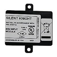 サイレントナイト セキュリティシステム SD500-MIM アドレス可能 ミニ入力モジュール シングルギャングボックスに取り付け クラスB配線対応