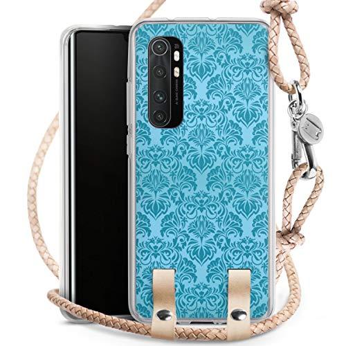 DeinDesign Carry Case kompatibel mit Xiaomi Mi Note 20 lite Hülle mit Kordel aus Leder Handykette...