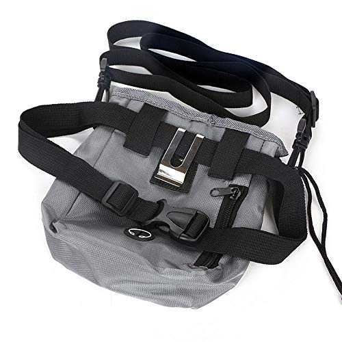 KAILLEET Hunde tragen Tragetasche Haustier Außentaschen multifunktionale Oxford Tuch Snack Tasche (Farbe, Size : 14cm*18cm)
