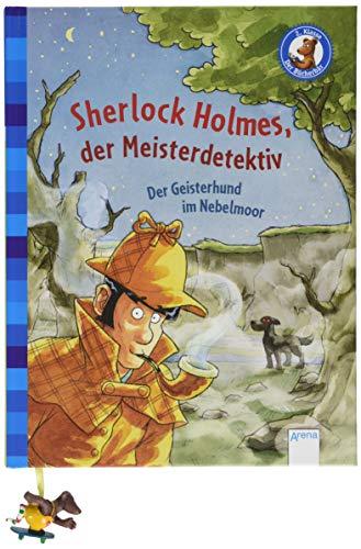 Sherlock Holmes, der Meisterdetektiv (3). Der Geisterhund im Nebelmoor: Der Bücherbär: Klassiker für Erstleser
