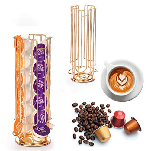 BBGSFDC Coffee Útil Capsule Rack de Almacenamiento práctico Porta café Pod Fits...
