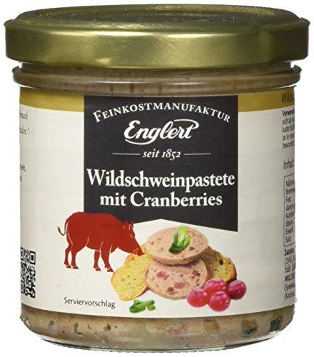 ENGLERT Wildschweinpastete mit Cranberries/Glas, 2er Pack (2 x 150 g)