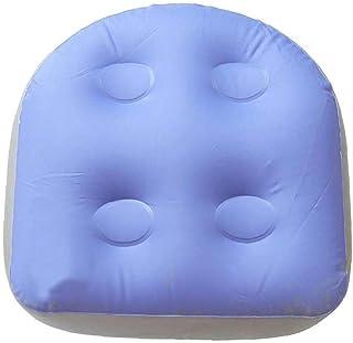 Sittdyna Vattentät Soft Booster Seat Uppblåsbara Badkar Seat Akupressur Massage Mat för vuxna barn Sky Blue 47X37X15CMComf...