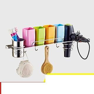 CHUTD Support de sèche-Cheveux, étagère pour sèche-Cheveux, Support de sèche-Cheveux, Support de séchoir à Cheveux en Acie...