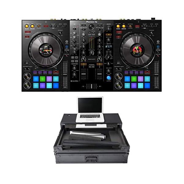Pioneer DJ DDJ-800 + Magma MGA40982 Case Bundle