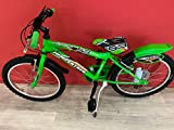 CINZIA Bicicleta Flipper MTB Boy 20' Verde sin cambio