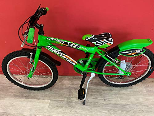 CINZIA Fahrrad Flipper MTB Boy 20 Zoll Grün Shimano Schaltung 6 V