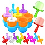 Qosea Silicone Popsicle Mold [2 Pack] Ice Pop...