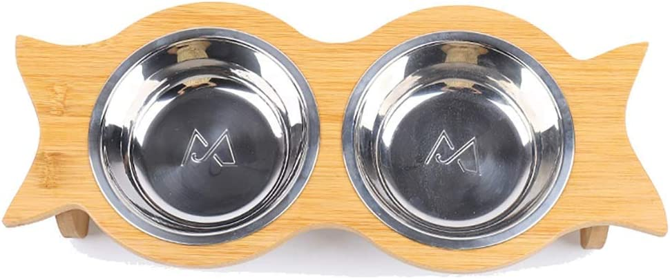 Cat Reservation Dish Regular dealer Ceramic Bowls Double Dogs Bowl Cats Food Set Water Feed