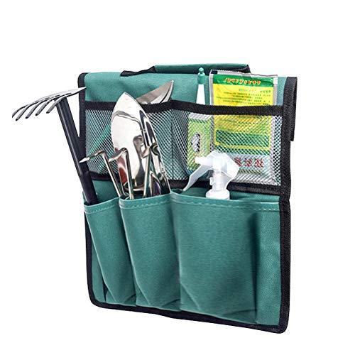 BovoYa Garden Tool Bag, Kneeler Storage Bag Portable Garden Tool Robusto, Ligero y práctico para Acampar al Aire Libre