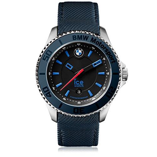 Ice-Watch - BMW Motorsport (steel) Dark & Light BE - Men's wristwatch with leather strap - 001113 (Medium)