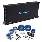 Rockville dB45 3200 Watt/1600w RMS 4 Channel Car Stereo Amplifier+Amp Kit Loud !