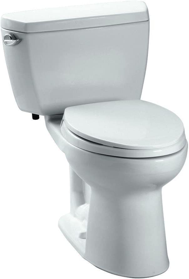 The CST744SL#01 Drake 2-Piece Ada Toilet From TOTO