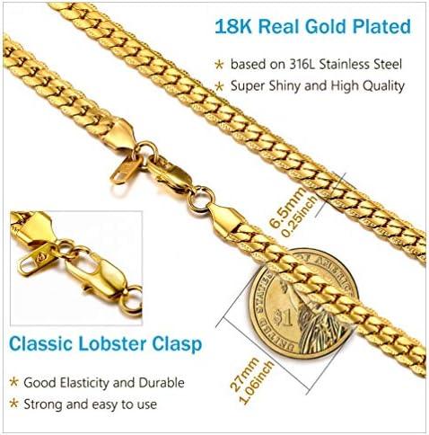 Cadenas de oro 18k para hombre _image0