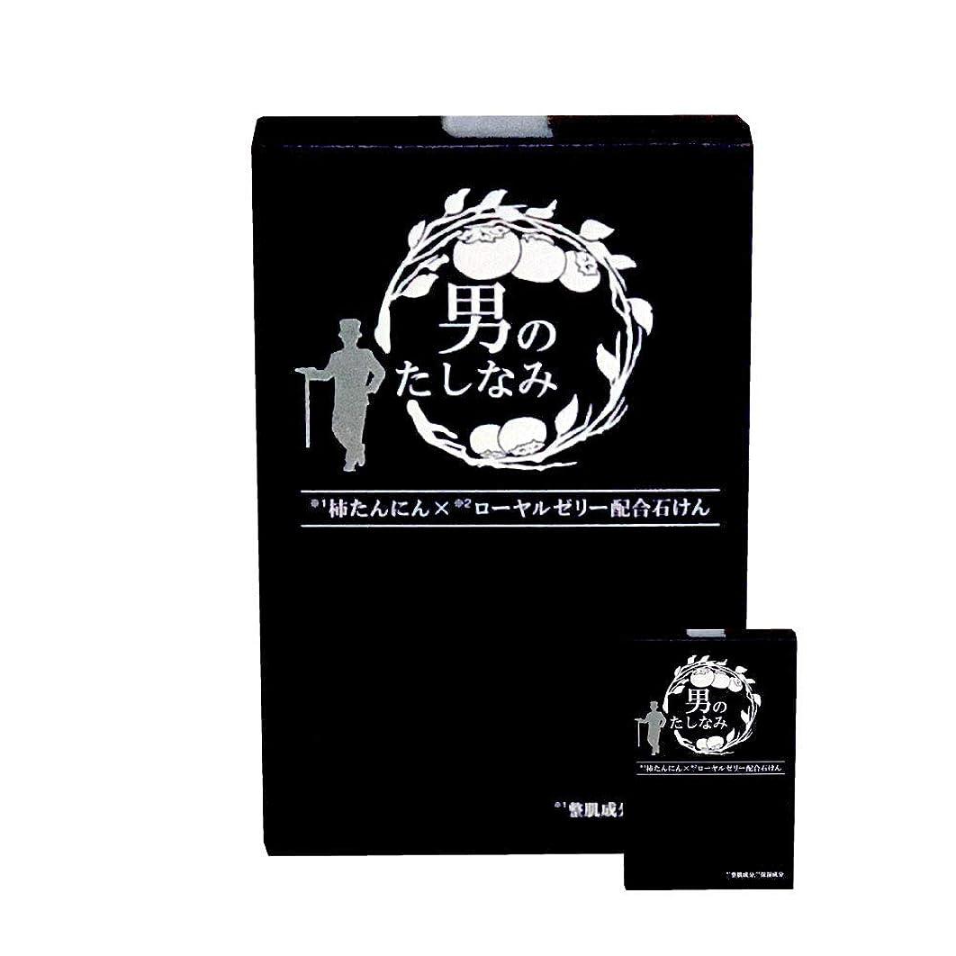 見かけ上成功容疑者柿渋石鹸 男のたしなみ 100g (2個セット)