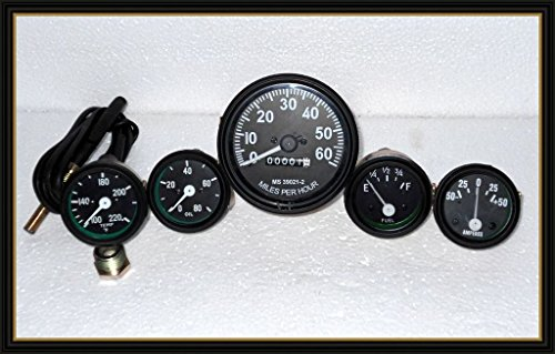 JEEP Willys Speedometer 12 V Kit for fits in-> 1946-66 CJ-2A, 3A, 3B,M38, M38A1MB, GPW, CJ2A, CJ3A and early CJ3B Jeeps' /></a></td> <td class=