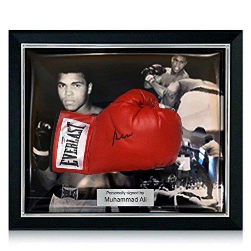 Deluxe gerahmt Muhammad Ali Signed Boxhandschuh (PSA DNA 3A96851)