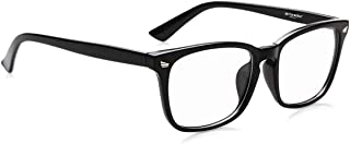 Better World Anti Blue Light (Eyestrain and UV Glare reduction) Computer/Reading/Gaming/TV Glasses (Long Usage) Unisex (CE...