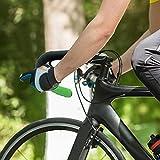 Sharplace Cintas para Manillar de Bicicleta de Carretera, Cinta para Manillar de Bicicleta, EVA Antideslizante, empuñadura de Ciclismo Envuelve Cinturones - 2 - Verde Negro