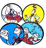 Dr Suess Cat in the Hat Party Cupcake Toppers...