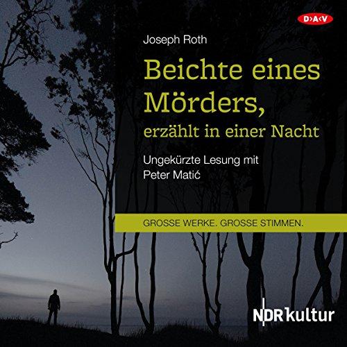 Beichte eines Mörders, erzählt in einer Nacht Titelbild