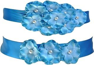 Flower Girls Sash Ribbon Belts Dresses Gown Belts Wedding Bridesmaid Silk Sash JB21