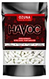 Havoc Nitric Oxide Supplement with L Arginine & Citrulline Malate for Muscle Growth, Pumps, Vascularity, & Energy - Extra Strength Pre/Intra Workout N.O. Booster & Muscle Builder - 60 Capsules
