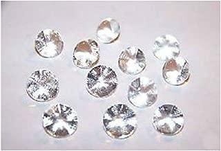 Edible Sugar Diamonds Mini Clear 6mm (pack of 38) cake decoration wedding